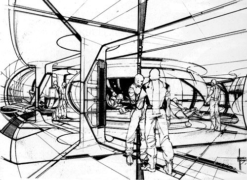 Syd Mead concept art