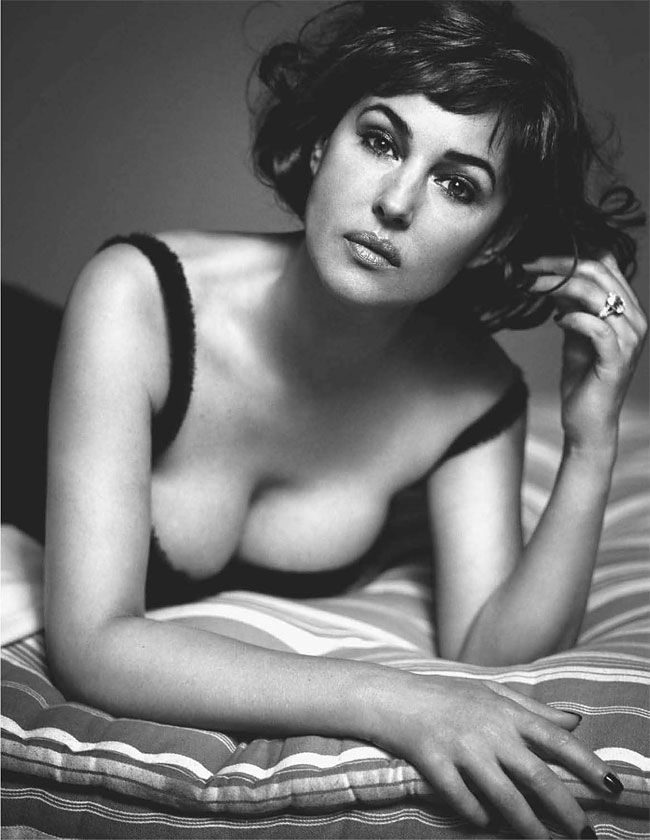 Monica Bellucci by Helmut Newton for Vogue Italy