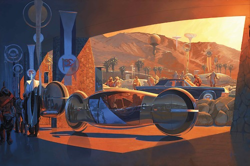 Syd Mead motorcycle