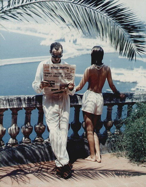 Helmut Newton: Morning at the Cote D'Azur