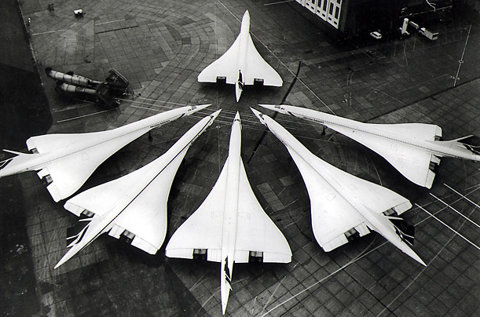 Concorde at airport