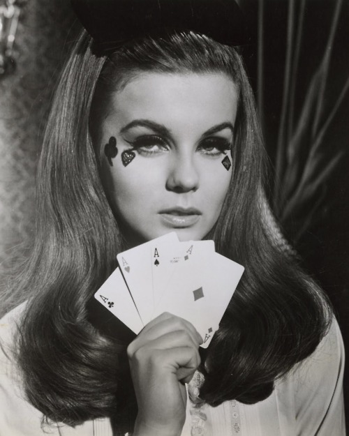 Ann-Margret playing cards