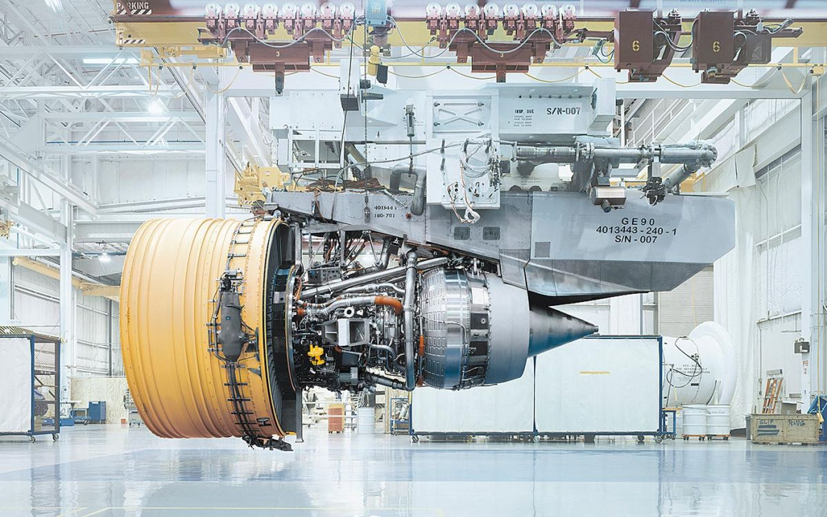 Aircraft engine General Electric