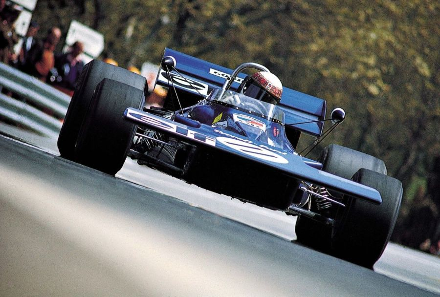 the Tyrrell jackie-stewart 001 is a Formula One racing car which was designed for the end of the 1970