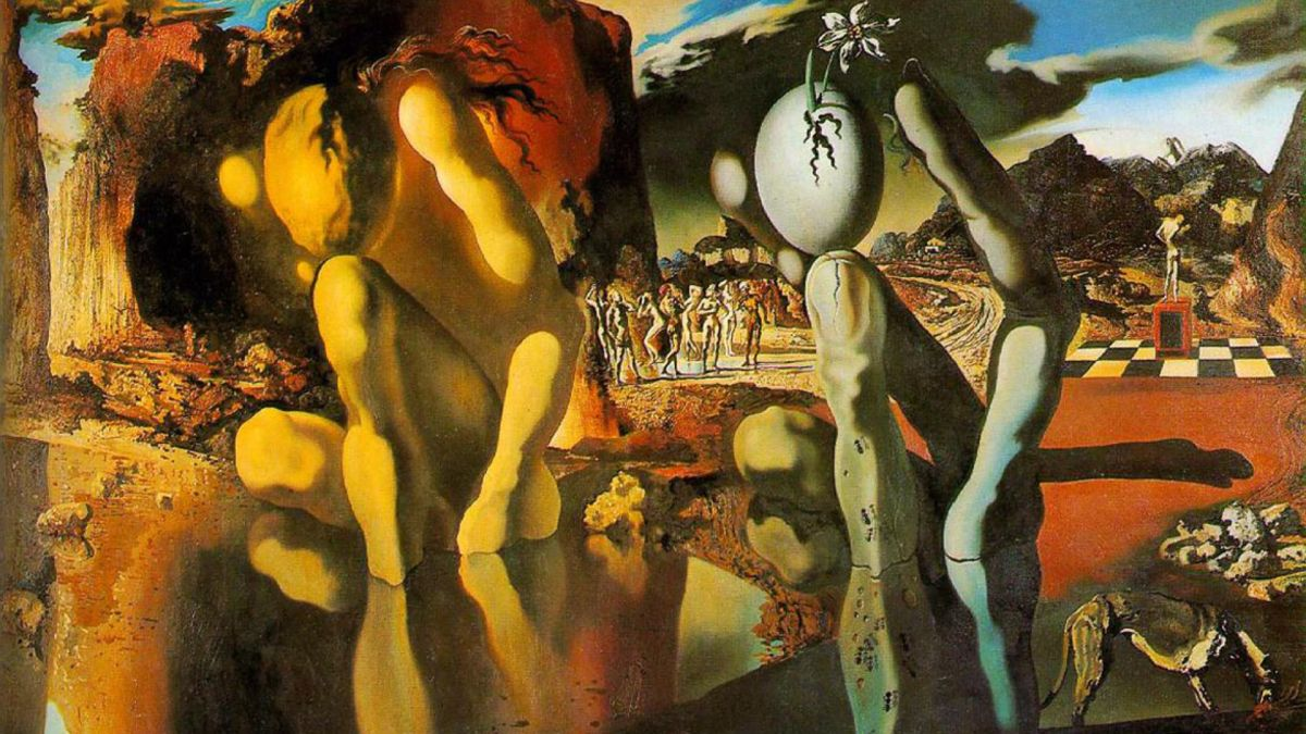 metamorphosis of narcissus salvador dali