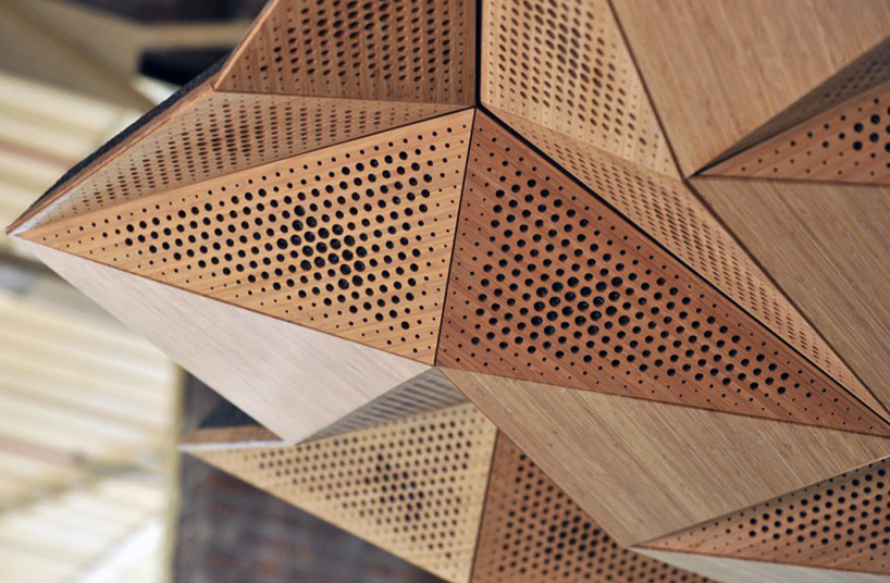 Origami architectural acoustic panels