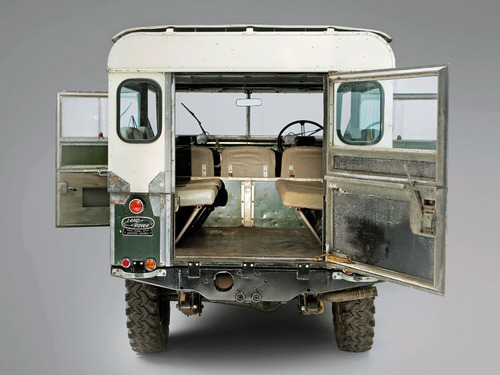Land Rover Series 3 Rear End Door, Tail Gate & Fittings