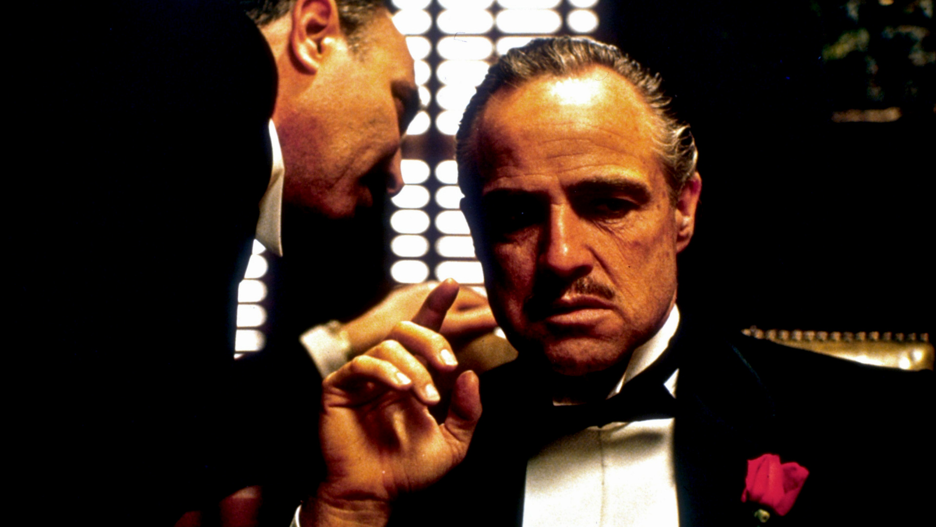 Marlon Brando won an Oscar for his role as Don Vito Corleone in The Godfather