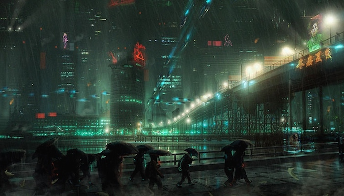 The dystopian themes in Blade Runner