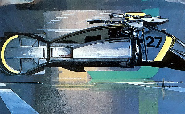 syd mead blade runner concept