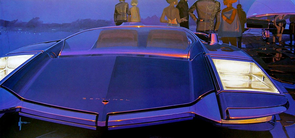 syd mead sentinel