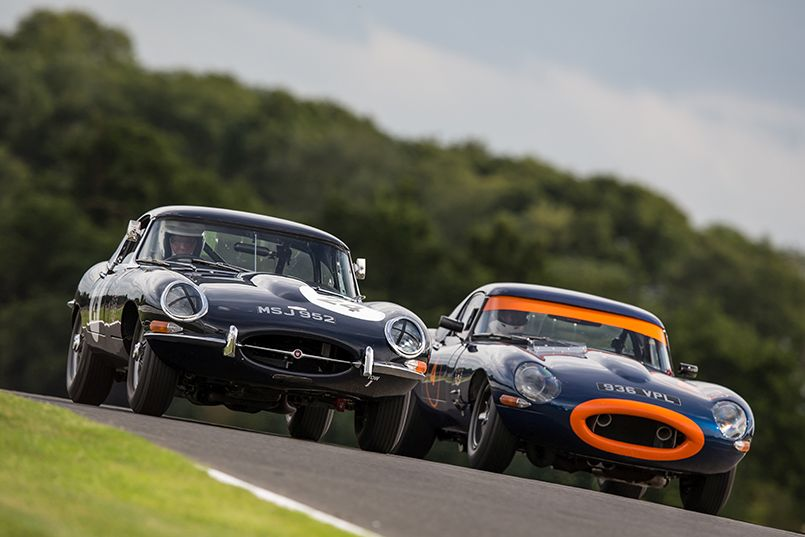 a superb race series for all models of pre '66 Jaguars which began running with the Historic Sports Car Club in 2015