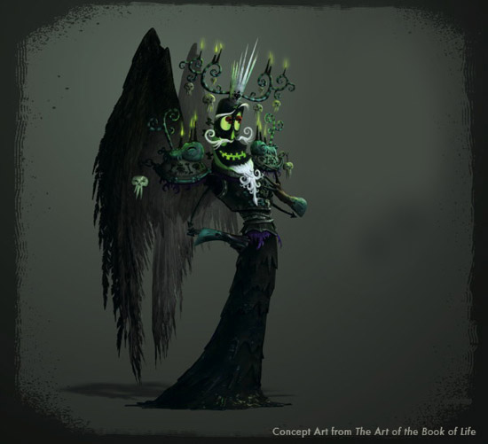 book of life concept art