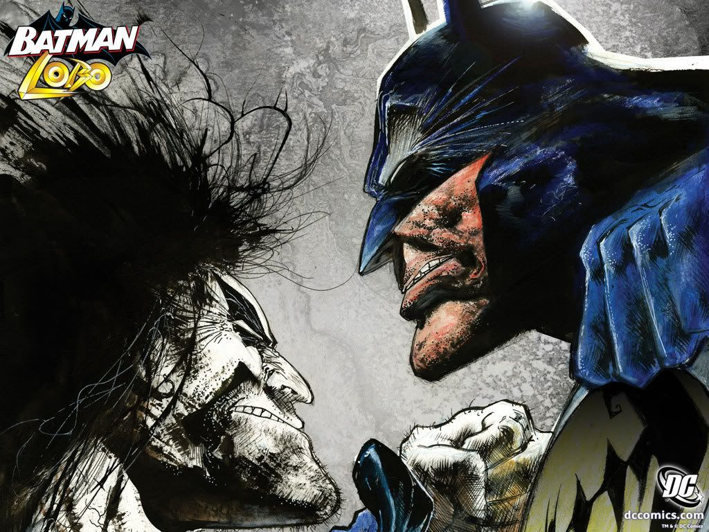 Lobo vs batman