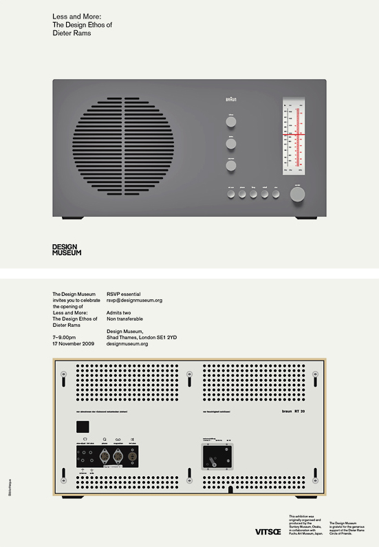 Braun design by Dieter Rams