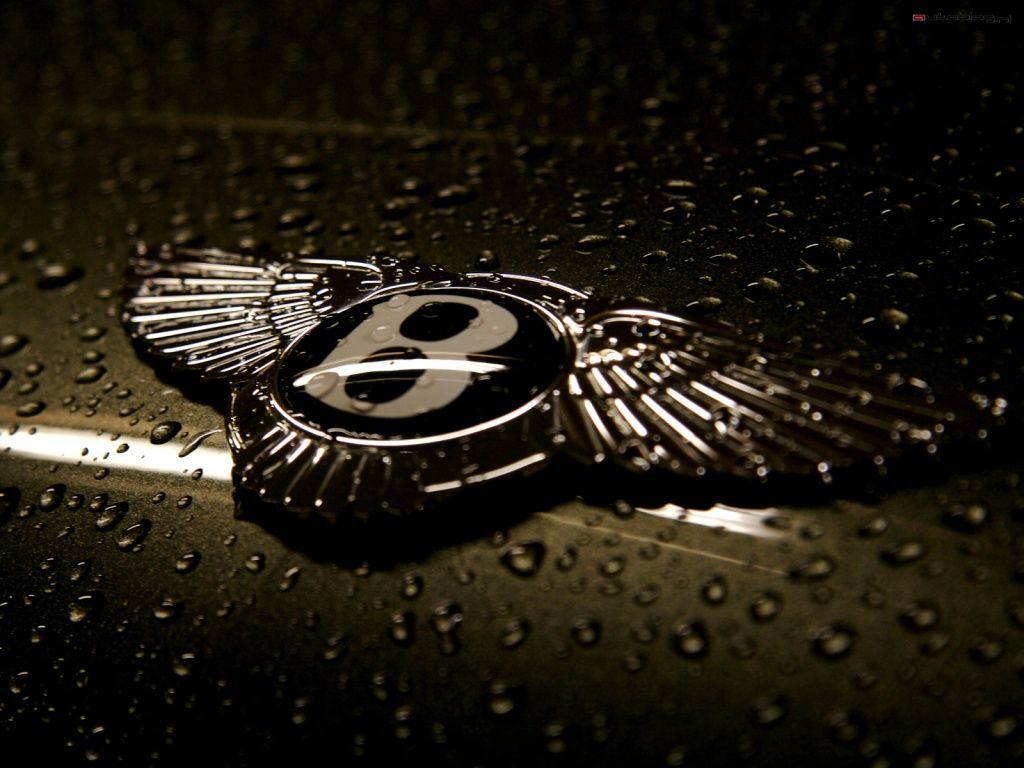 Bentley winged B badge bonnet ornament
