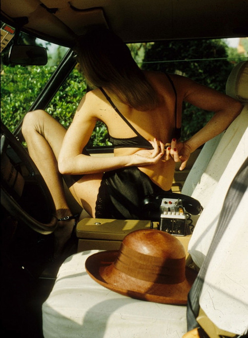 helmut newton car