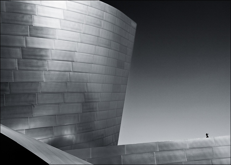 Frank Gehry's Walt Disney Concert Hall in Los Angeles