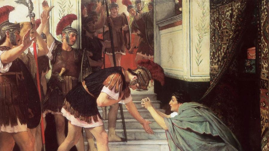 Claudius, the 4th emperor of Rome, had to be dragged out from behind curtains