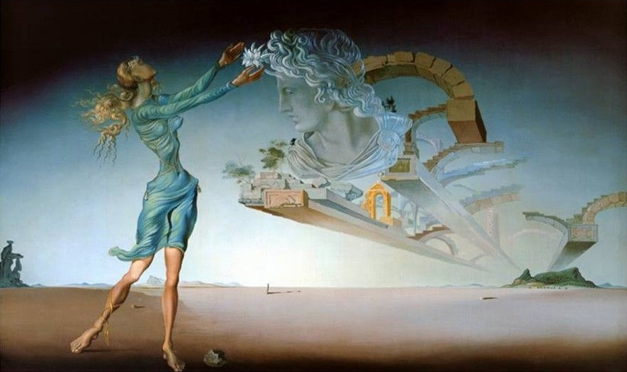 The Mirage, 1946 by Salvador Dali