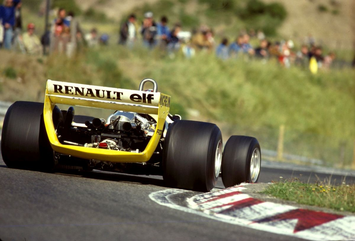 Jean Pierre Jabouille Renault F1 RS10