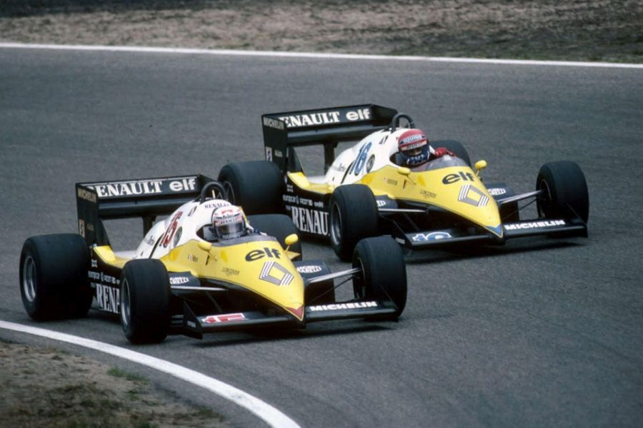 Renault Elf RE40 Alain Prost