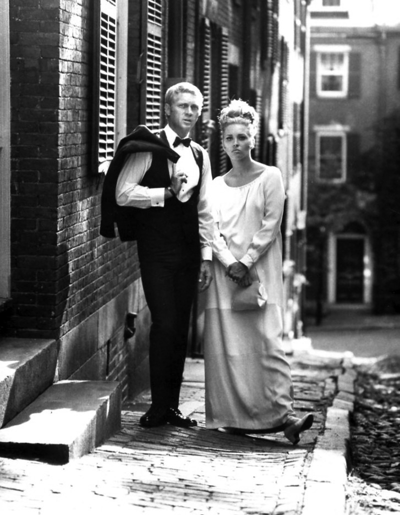 Thomas Crown and Miss Vicki Anderson, Beacon Hill, Boston