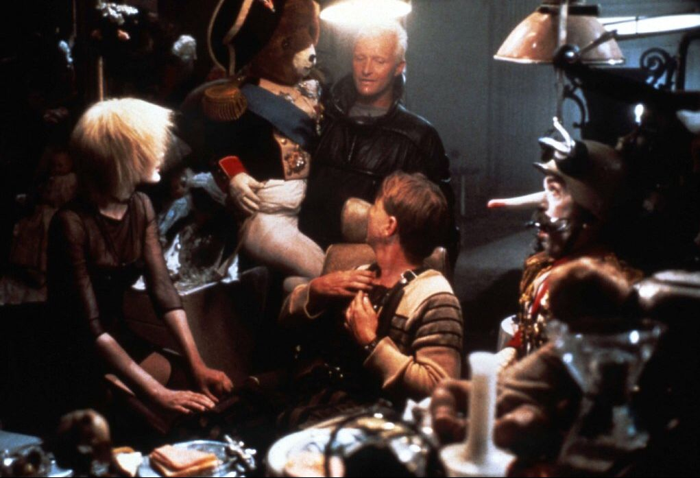 blade runner pris roy batty j.f sebastian