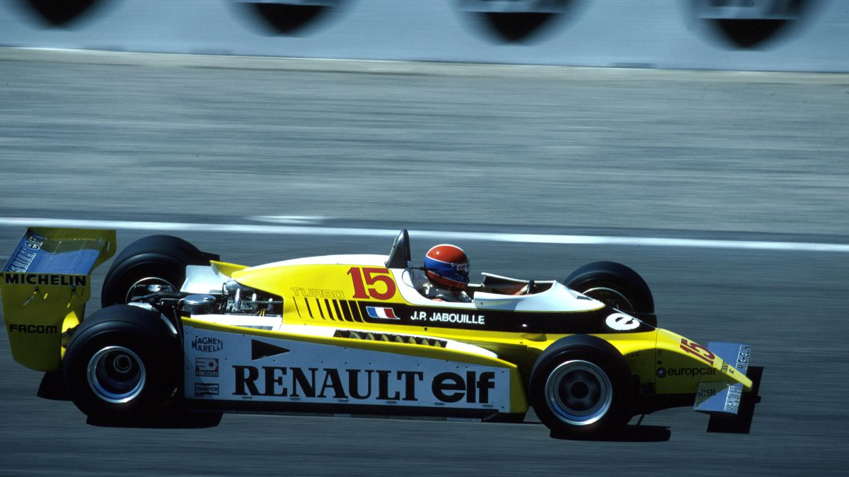 Renault F1 RS10 Jean-Pierre Jabouille
