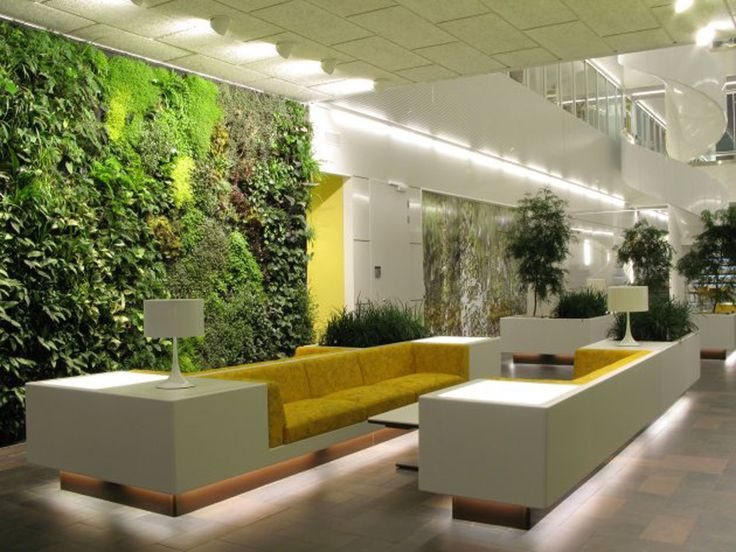 Contemporary Vertical Garden for Hotel Lobby