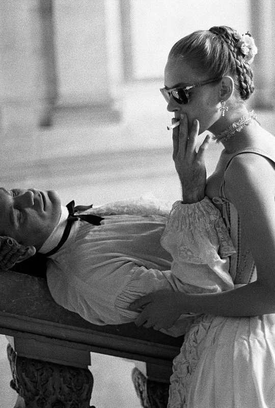 John Malkovich and Uma Thurman Dangerous Liaisons