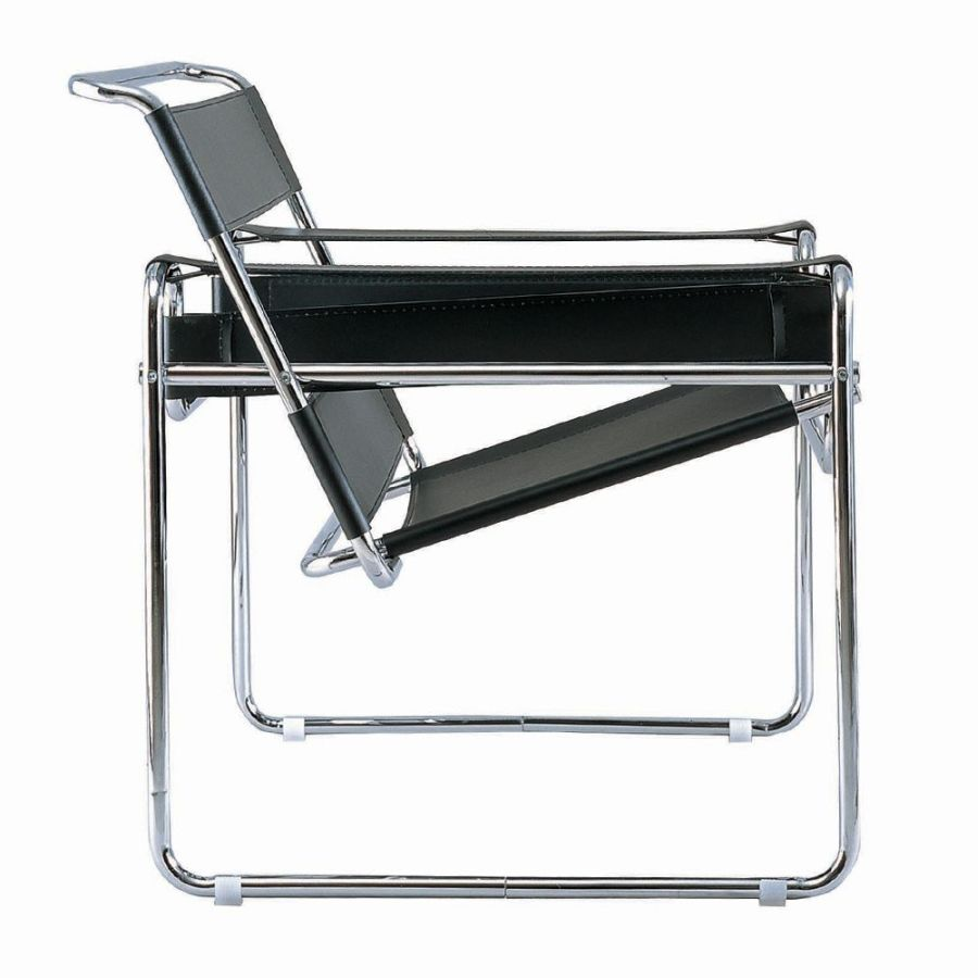 wassily chair by marcel breuer milo 3oneseven. Black Bedroom Furniture Sets. Home Design Ideas