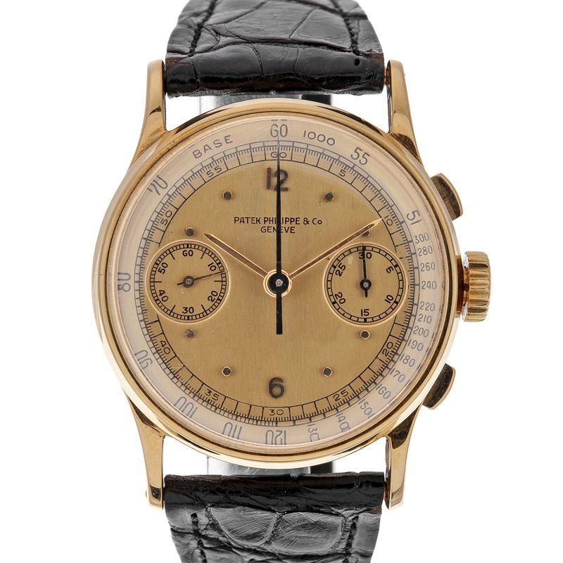 patek philippe & co chronograph