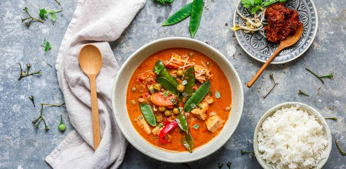 Curry-spiced-dish