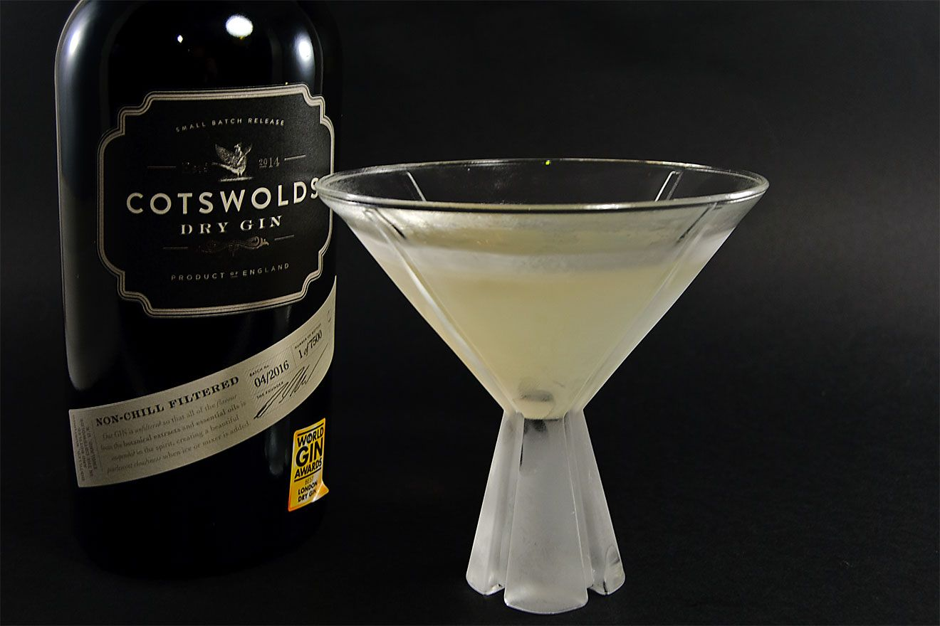 cotswolds london dry gin martini