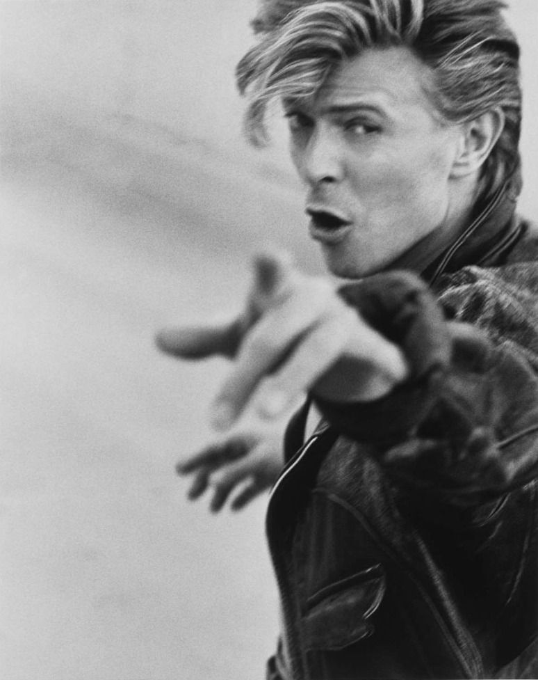 David  Bowie by Herb Ritts