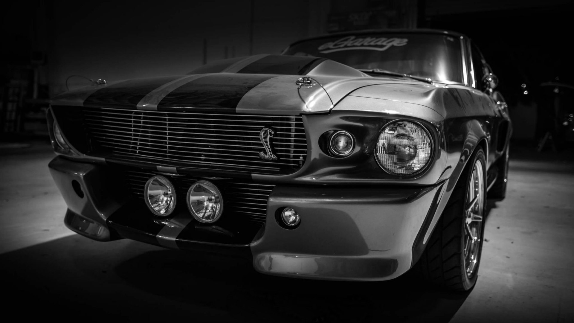 Ford Mustang Shelby GT500 poster