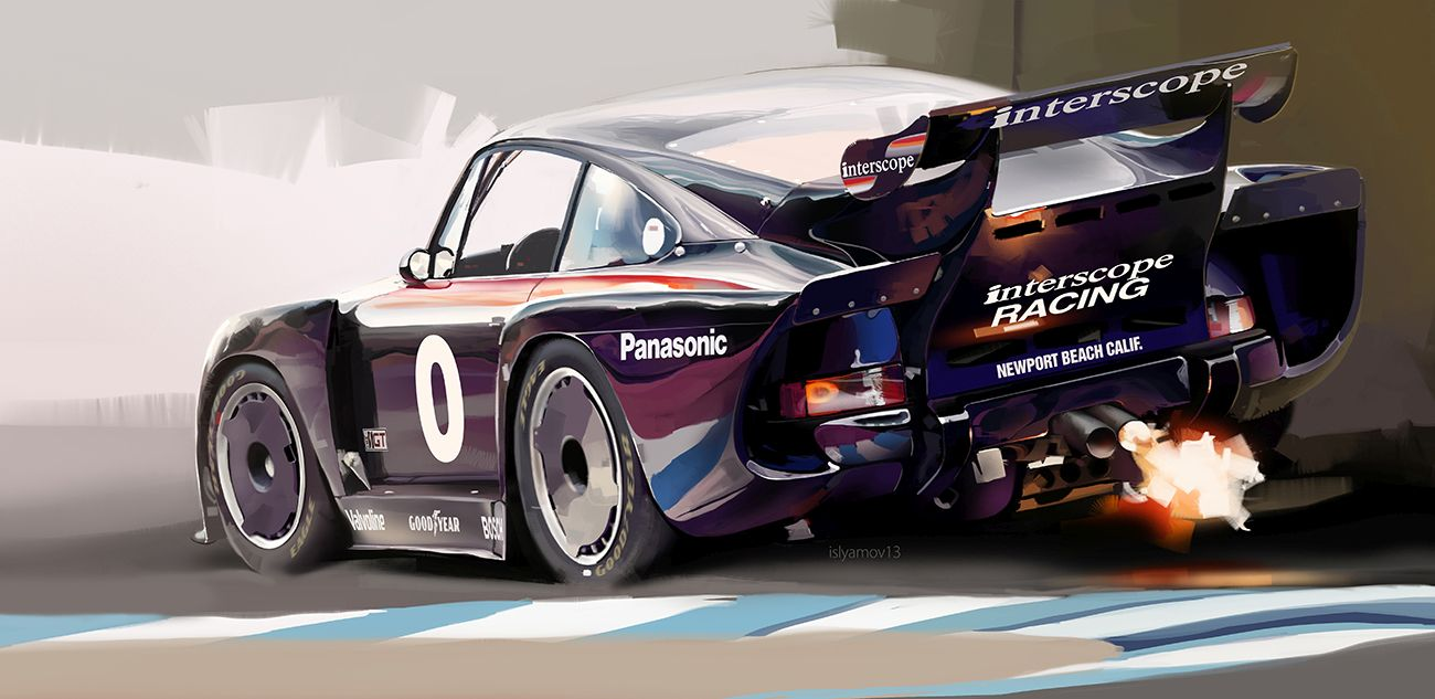 interscope porsche 935
