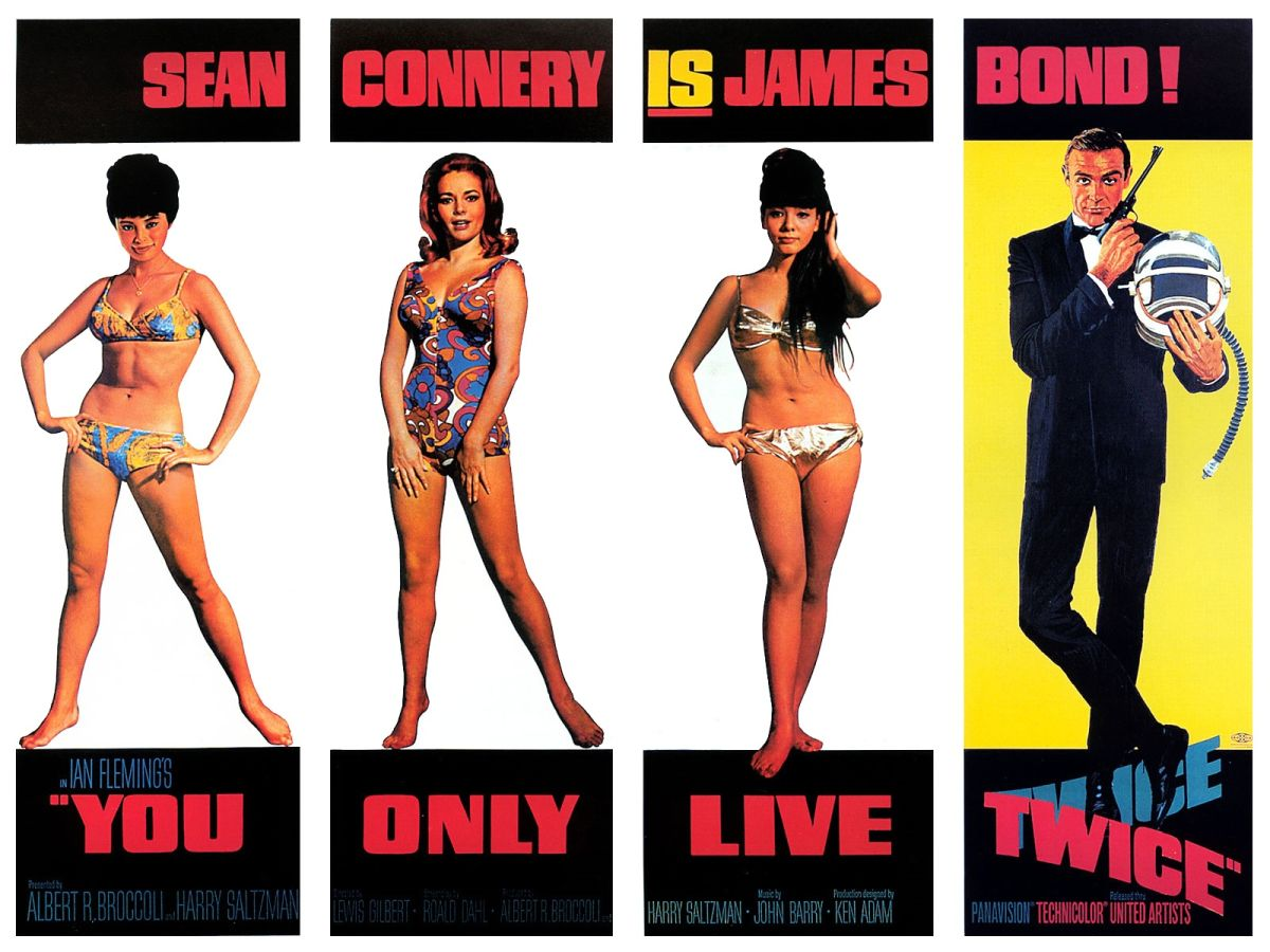 007 you only live twice by Lewis Gilbert