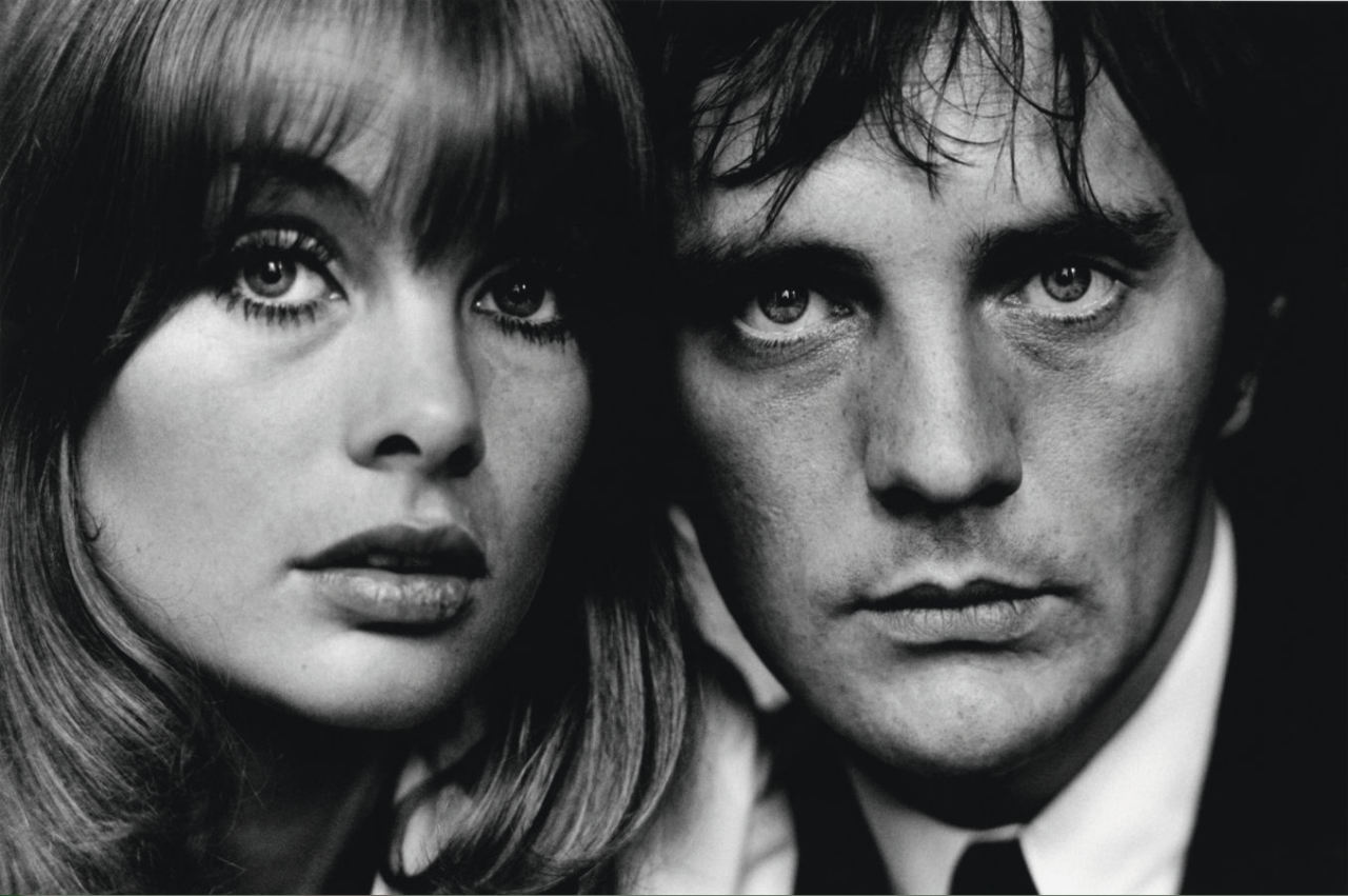 Jean Shrimpton and Terence Stamp  by David Bailey