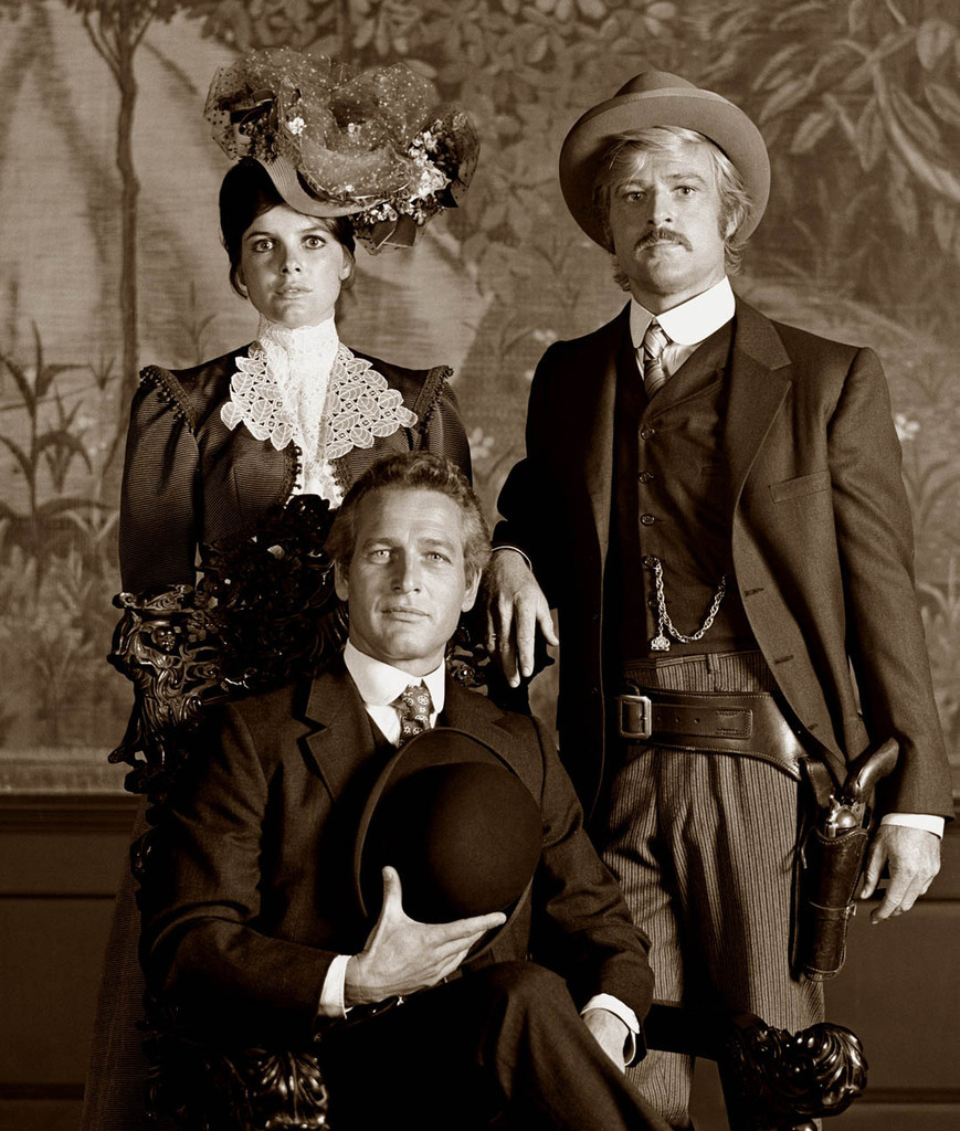 Katherine Ross, Paul Newman and Robert Redford