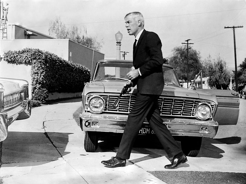 """Lee Marvin in """"The killers"""""""