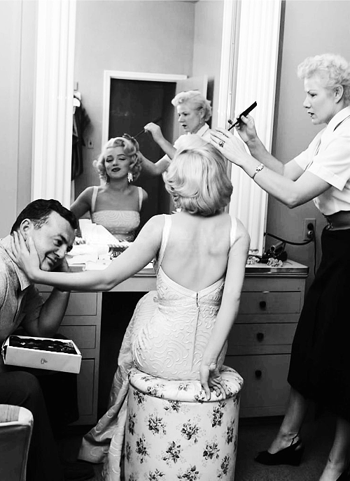 Marilyn Monroe by John Florea on the set of How to Marry a Millionaire (1953)