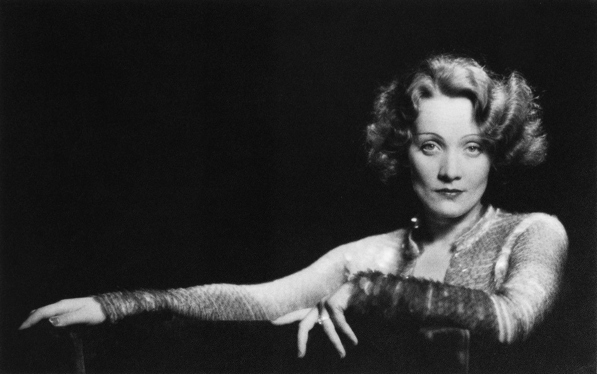 Marlene Dietrich photo by Richard Avedon