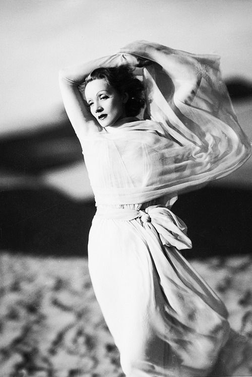 Marlene Dietrich in The Garden of Allah (1936). by Kenneth Alexander