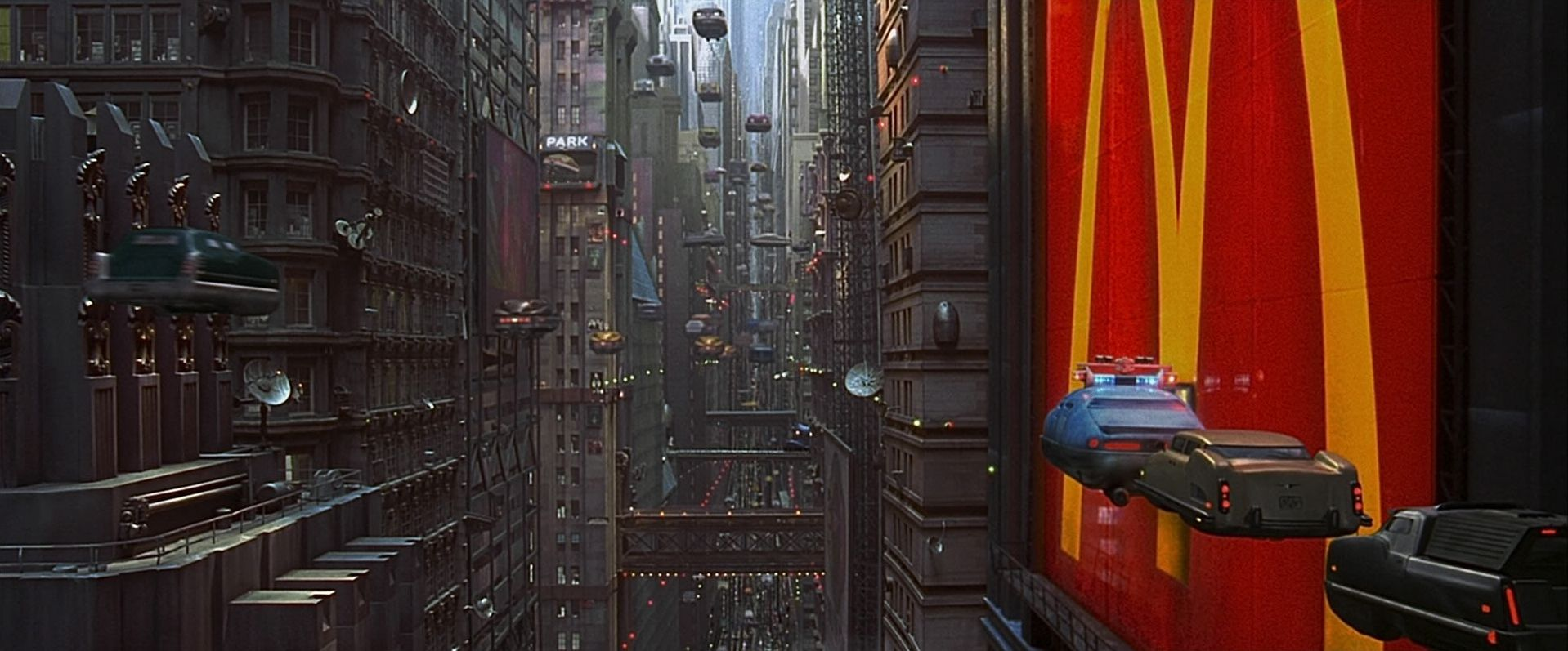 The Fifth Element city architecture