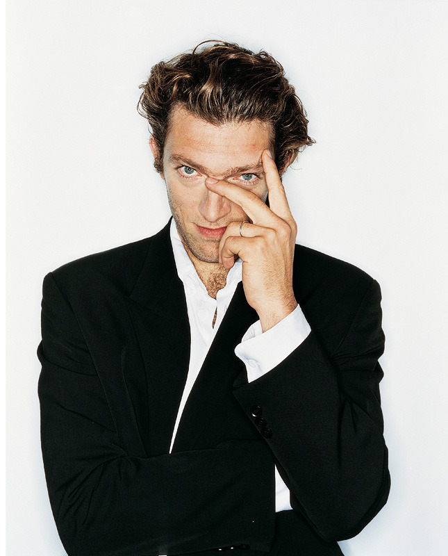 Vincent Cassel by Rankin