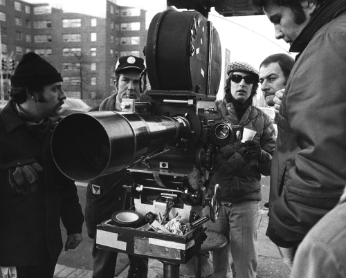 William Friedkin behind the scenes of The French Connection (1971)