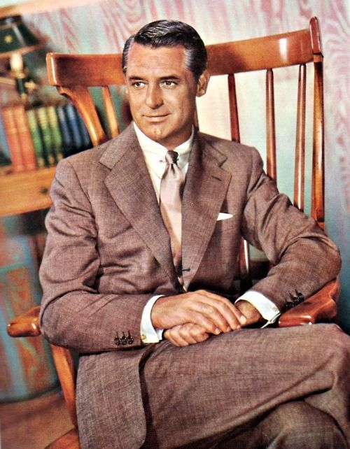 cary grant brown suit