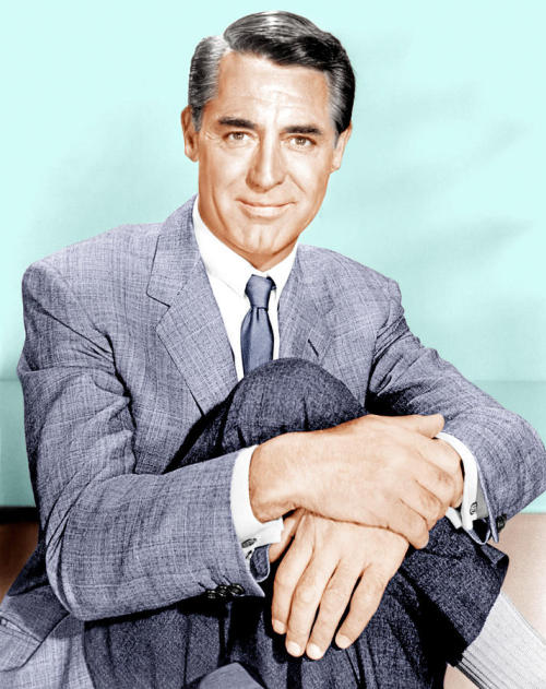 cary grant grey suit